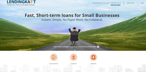 Lendingkart giúp các doanh nghiệp SMEs nhận được tiền vay trong vòng 72 giờ. Ảnh: Fundingsmes.