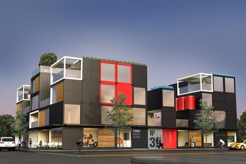 Căn hộ của Blockable có thể xếp cao tới 5 tầng. Ảnh: Blockable.com.