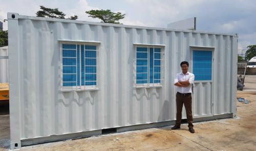 Phạm Hữu Học bên sản phẩm container văn phòng chuẩn bị ra mắt tháng 11.