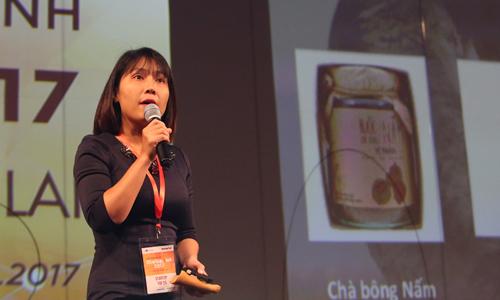 Chị Phạm Hồng Vân - CEO của dự án Nấm tươi cười.