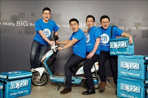Đội ngũ của Ele.me. Ảnh: Tech in Asia.