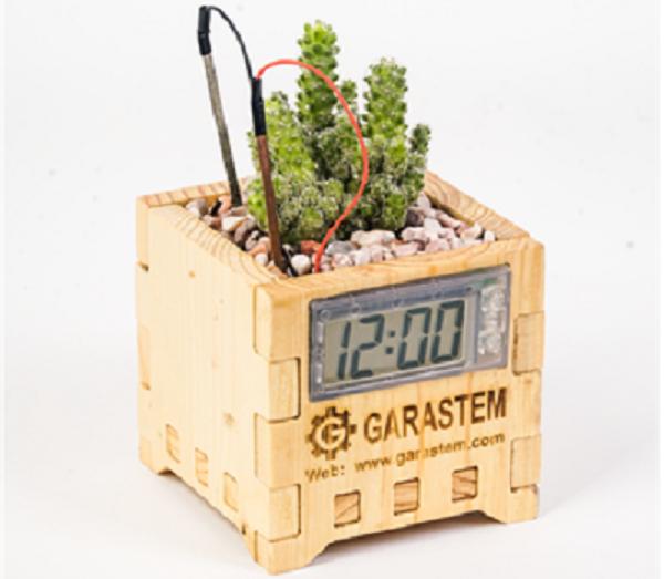 Sản phẩm công cụ học tập khám phá năng lượng từ đất của startup GaraSTEM