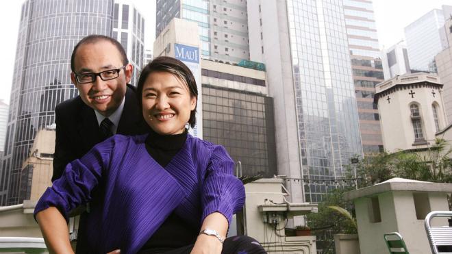 Zhang Xin cùng chồng Pan Shiyi. Ảnh: South China Morning Post.