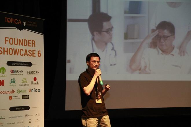 BookingCare là một startup y tế công nghệ, cung cấp dịch vụ đặt lịch hẹn trực tuyếnvới bác sĩ. Ảnh: TFI