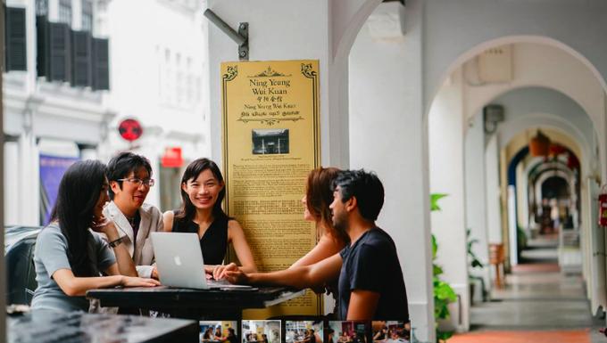 Khu ở kết hợp làm việc cho startup giá bình dân tại Singapore