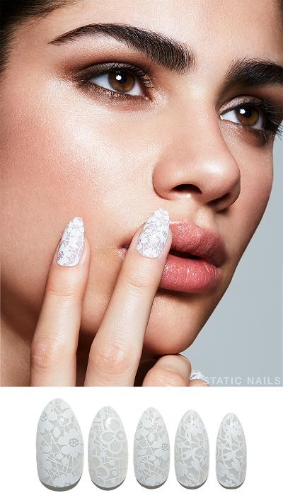 Móng tay dán Static Nails có thể tái sử dụng 6 lần và giữ độ bền 18 ngày. Ảnh: Static Nails.
