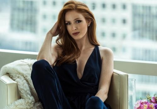 Cựu người mẫu 24 tuổi Alexis Irene, sáng lập và là CEO của thương hiệu Static Nails. Ảnh: Forbes.
