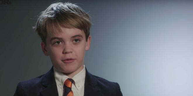George Weiksner , 12 tuổi, CEO của Pocketful of Quarters,