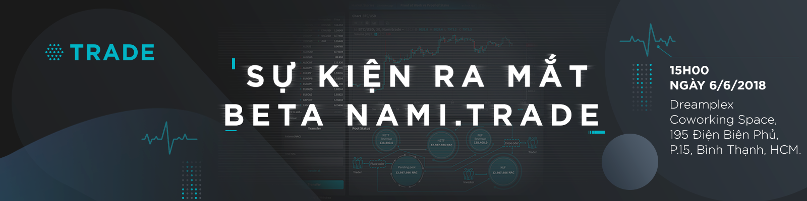 Nami N3 Event - Sự kiện ra mắt bản Beta nền tảng giao dịch phi tập trung nami.trade