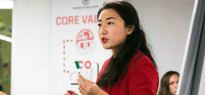 Dandan Zhu - nhà sáng lập và CEODandan Global Group. Ảnh:Courtesy Dandan Zhu