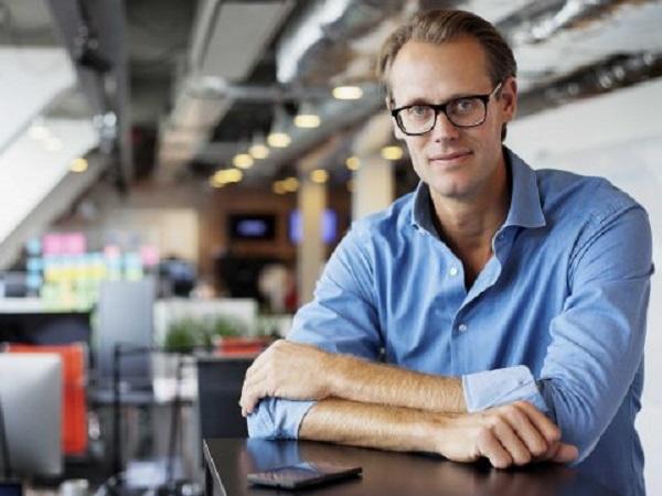 Jacob De Geer - CEO của iZettle.
