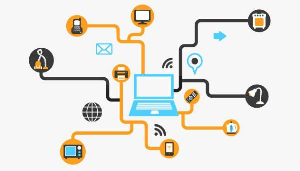 IoT kết nối vạn vật qua nền tảng Internet.