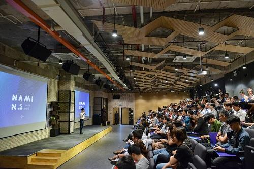 Khoảng 300 nhà đầu tư tham gia buổi giới thiệu sản phẩm mới trong hệ sinh thái công nghệ tài chính của Nami Corp.