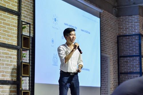 Giáp Văn Đại - CEO Nami Corp. chia sẻ mục tiêu của hệ sinh thái Nami là tạo ra giá trị cốt lõi cho các nhà đầu tư tài chính, thông qua ứng dụng công nghệ blockchain, smart contract và trí tuệ nhân tạo.