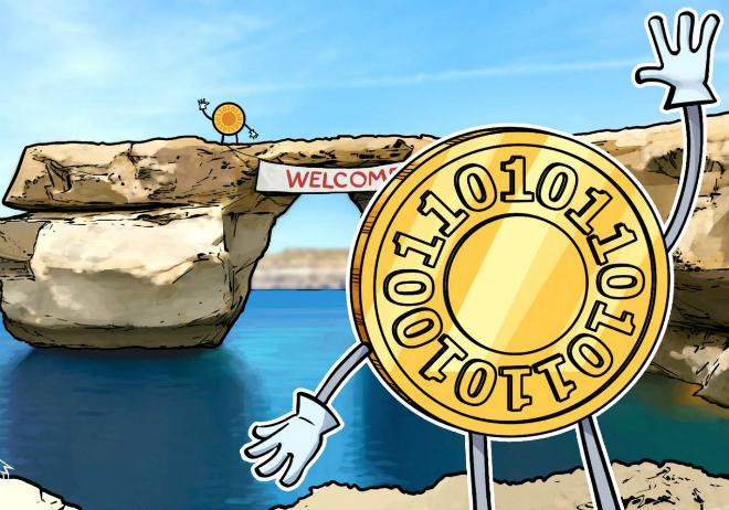 Malta đã thể hiện rất rõ tham vọng muốn trở thành một đảo quốc Blockchain. Ảnh: CoinTelegraph
