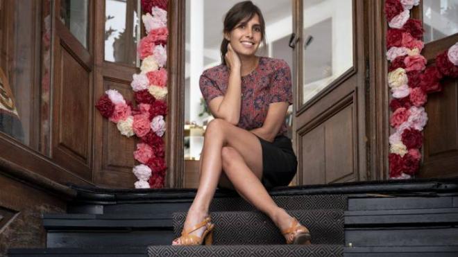 Morgane Sézalory - nhà sáng lập thương hiệu Sézane. Ảnh: Financial Times.