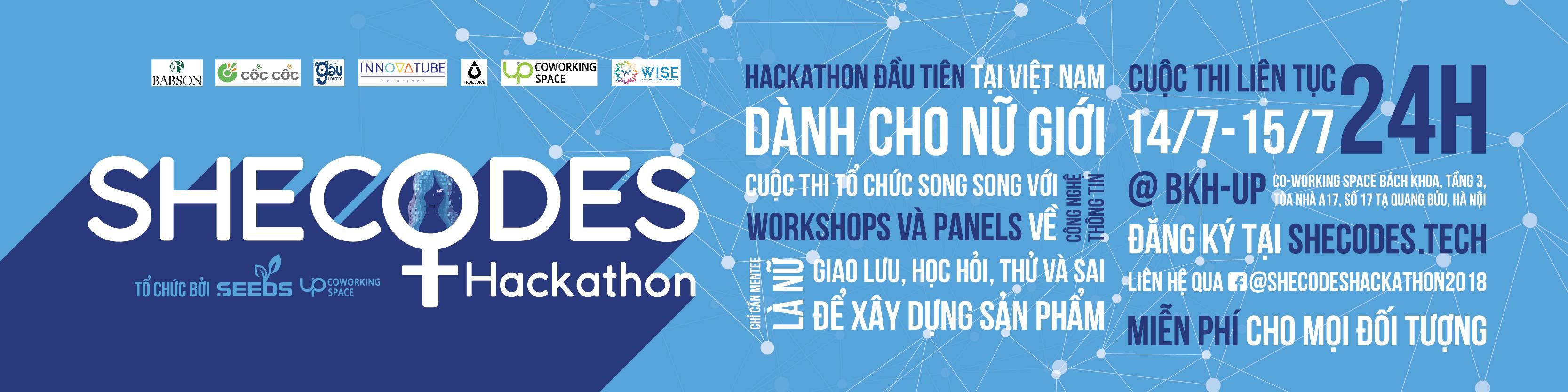 SheCodes Hackathon 2018