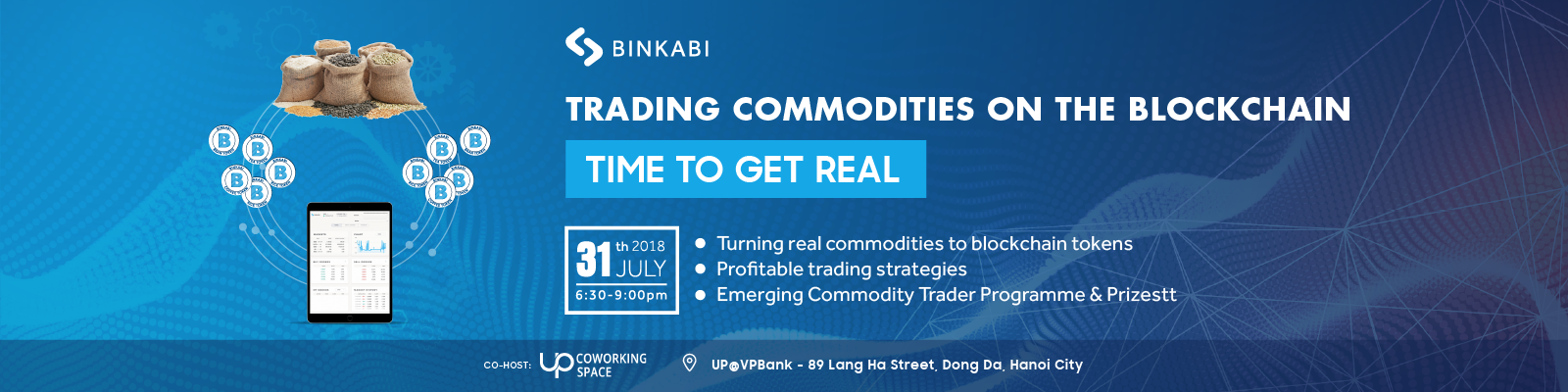 Binkabi Hanoi Meetup: Trading commodities on the blockchain - Time to GET REAL!