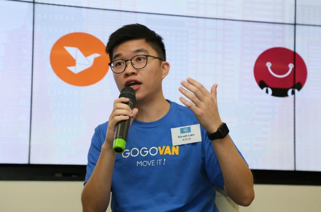 Steven Lam - đồng sáng lập startup kỳ lânGogovan. Ảnh: Gogovan.