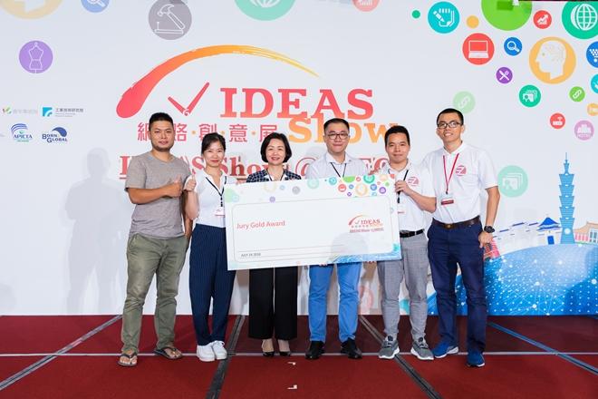 EzQ giành giải cao nhất (Jury Gold) tại IDEAS Show APEC 2018.
