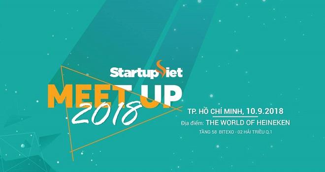 Chương trình Startup Việt 2018 có nhiều hoạt động bên lề hấp dẫn dành cho cộng đồng khởi nghiệp như sự kiện Meetup - kết nối nhà đầu tư, startup thành công với các chuyên gia khởi nghiệp trong một cuộc nói chuyện theo chủ đề. Ảnh: Vnexpress