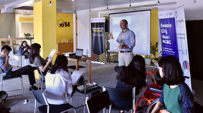 Chương trình Remake City, Hanoi - HCMC hướng đến các doanh nghiệp, startup có sản phẩm, dịch vụ tạo tác động xã hội.