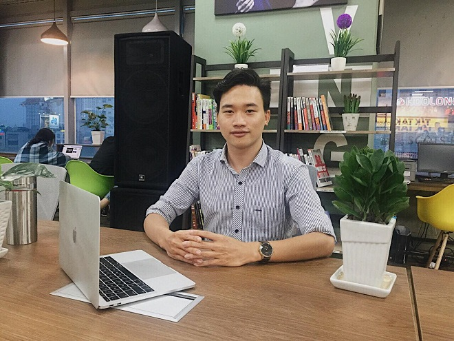 Trần Ngọc Mạnh- Co- Founder/CEO của ManMo Search.
