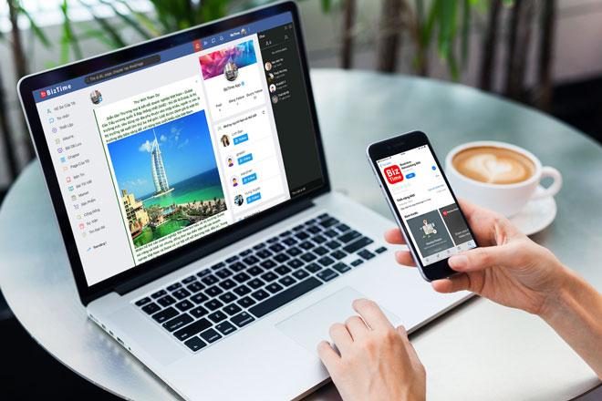 Biz Time mang theo ước mơ về một mạng xã hội dành riêng cho người Việt, do người Việt sáng tạo.