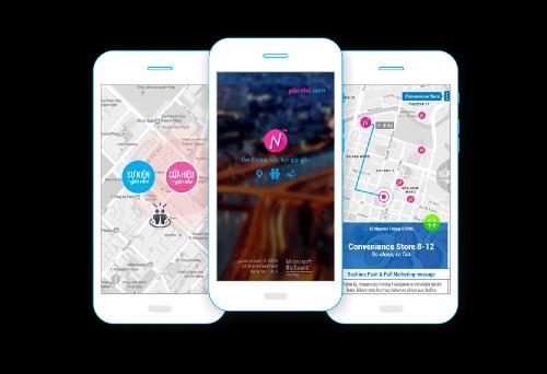 Giao diện ứng dụng Gannha.com.
