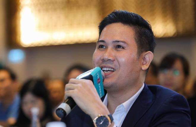 Ông Phạm Văn Tam là thành viên hội đồng chuyên môn Startup Việt 2018. Ảnh: Quỳnh Trần.