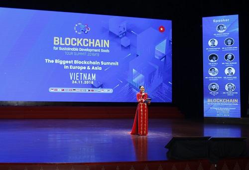 Tân Chủ tịch EUBC Hub tại Việt Nam phát biểu trong chuỗi sự kiện. Ảnh: SVF.