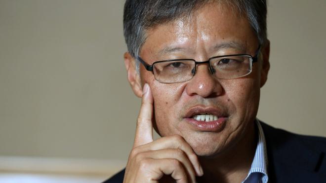 Đồng sáng lập Yahoo Jerry Yang hứng thú với những lĩnh vực chưa có quỹ đầu tư nào để mắt tới. Ảnh: Kosaku Mimura.