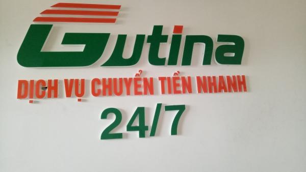 Gutina Chuyển tiền nhanh 24/7