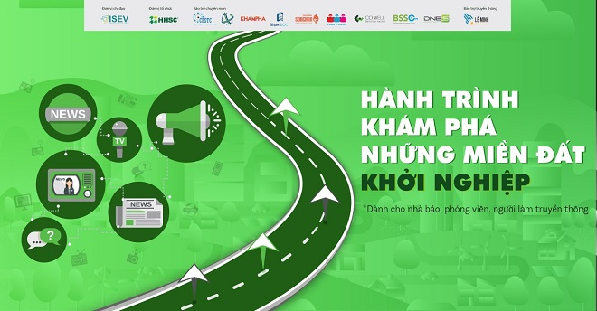 trình diễn ra liên tục 05 ngày để tìm hiểu về hệ sinh thái KNST tại Đà Nẵng và TP.HCM