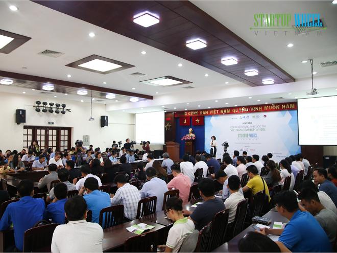 Họp báo phát động cuộc thi Vietnam Startup Wheel 2019