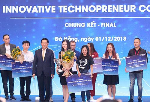 Abivin trở thành quán quân Cuộc thi Khởi nghiệp đổi mới sáng tạo quốc gia 2018.