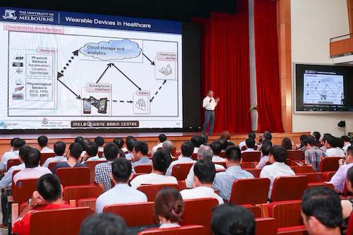 Chương trình Ngày hội Trí tuệ nhân tạo (AI4VN) diễn ra tại trường Đại học Bách Khoa Hà Nội, số 1 Đại Cồ Việt, quận Hai Bà Trưng, Hà Nội từ 15 - 16/8.