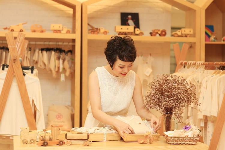 Cô gái Hà Nội đam mê thời trang hữu cơ