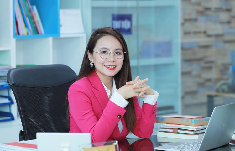 Nhà sáng lập IMAP Nguyễn Thị Hoa