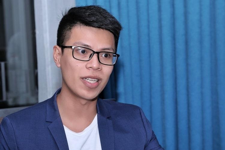 Ông Ngô Hoàng Gia Khánh chia sẻ góc nhìn của chuyên gia đầu tư và phát triển hệ sinh thái thương mại điện tử cho Tiki. Ảnh: Hữu Khoa.