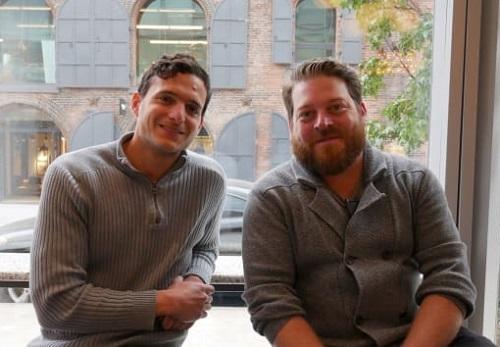 Aylon Steinhart và Thomas Bowman, hai thành viên sáng lậpEclipse Foods. Ảnh: CNN.