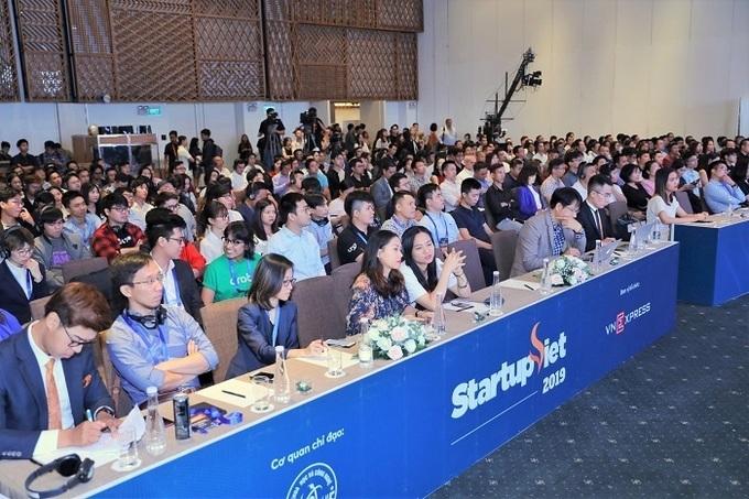 Gala Startup Việt 2019 thu hút hàng trăm startup tham dự.