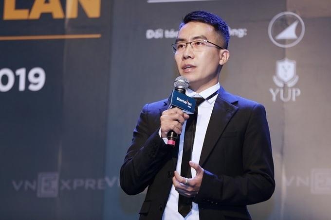 Ông Ngô Mạnh Cường - Trưởng ban tổ chức Startup Việt 2019.