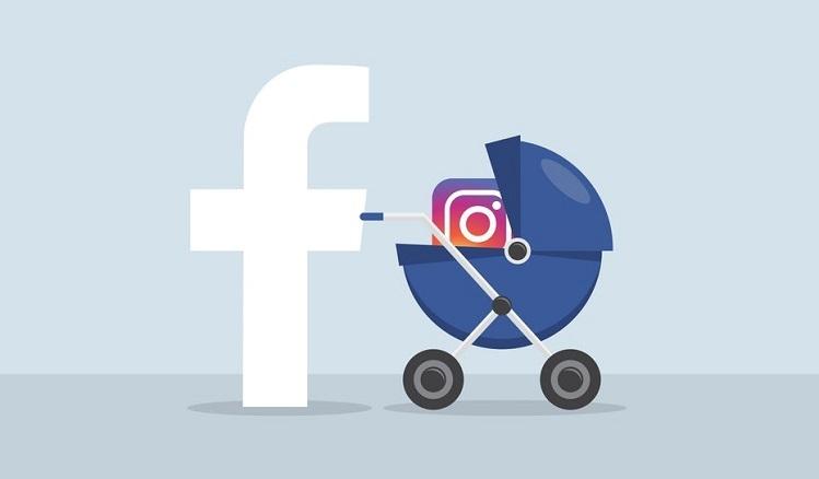 Facebook mua lại startup Instagram là một trong những vụ mua lại thú vị cho thấy hướng đi thâm nhập nhân khẩu học mới của các ông lớn công nghệ. Ảnh: 99designs.