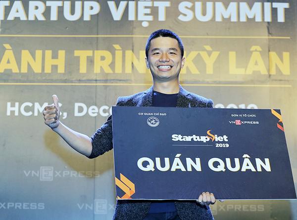 Ông Phan Xuân Cảnh - Đồng sáng lập, CTO Viec.co (Việc Có), quán quân Startup Việt 2019.