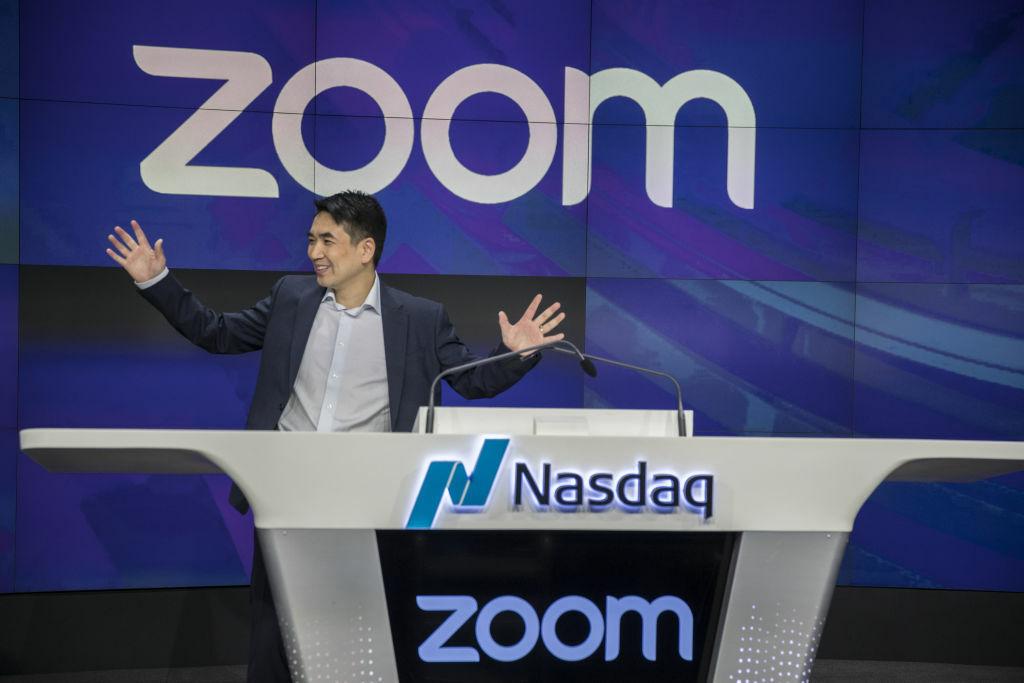 Eric Yuan - CEO của Zoom. Ảnh: Times