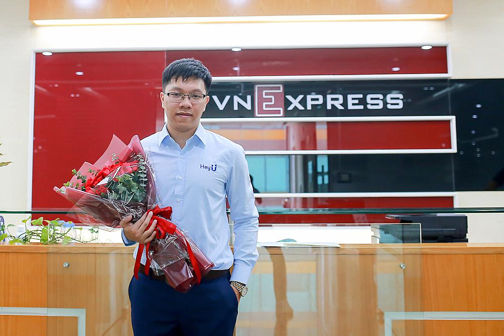 Ông Đoàn Văn Tuấn – trưởng phòng phân tích của startup HeyU