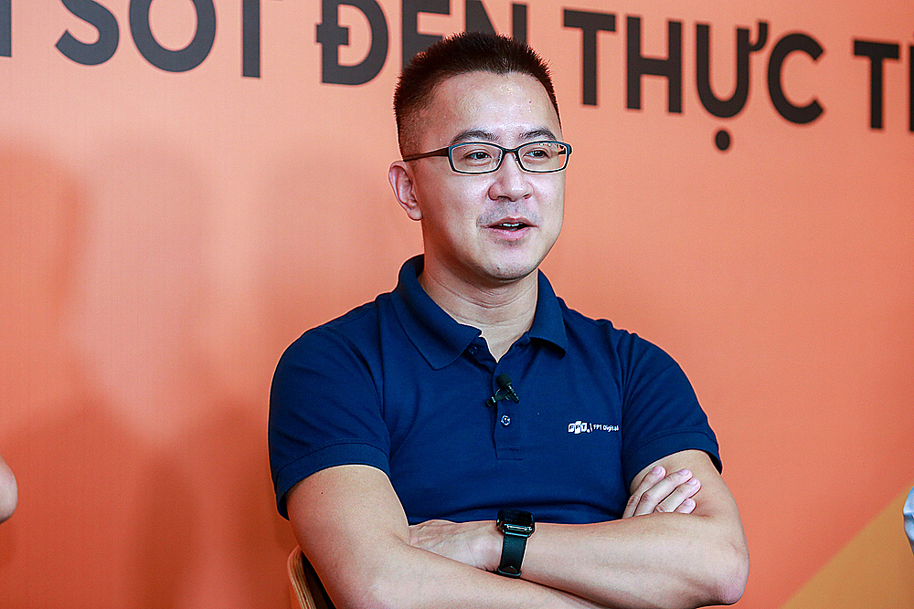 Ông Trần Huy Bảo Giang - Giám đốc chuyển đổi số của FPT.