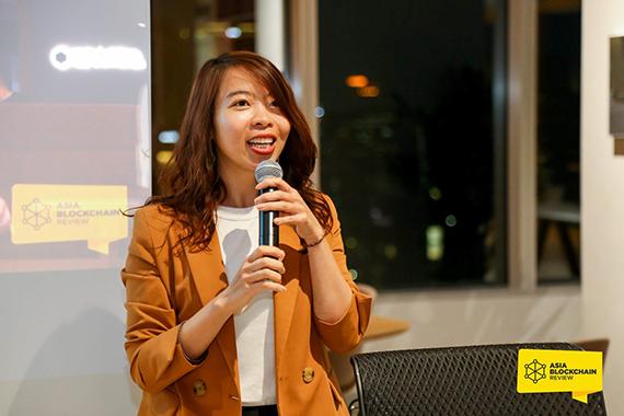 Bà Nguyễn Hải Thanh, CEO AVSE Corp tại một sự kiện.