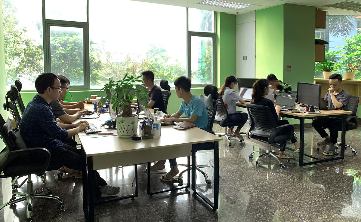 Văn phòng công ty Computer Vision tại Hà Nội.